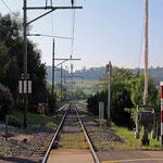 Schweizer-Eisenbahnen - Bahnhof Sitterdorf