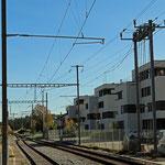Schweizer- Eisenbahnen Bahnhof Kreuzlingen Bernrain