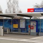 Schweizer-Eisenbahnen - Bahnhof Winterthur Würenlos