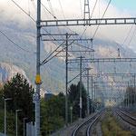 Schweizer-Eisenbahnen Bahnhof Chur Wiesental