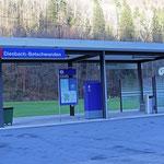 Schweizer-Eisenbahnen - Bahnhof Diesbach-Betschwanden