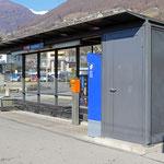 Schweizer-Eisenbahnen - Bahnhof Gordola