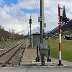 Schweizer-Eisenbahnen - Bahnhof Davos Islen
