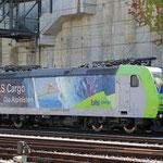 Schweizer-Eisenbahnen - Re 485 / 018