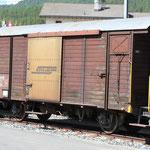Schweizer Eisenbahnen RhB Güterwagen D2 - 4079