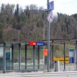 Schweizer- Eisenbahnen Bahnhof Saland