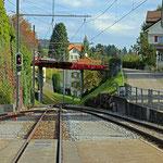 Schweizer-Eisenbahnen Bahnhof Waldstatt