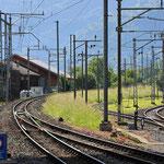 Schweizer-Eisenbahnen Bahnhof Interlaken