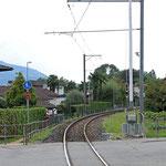 Schweizer-Eisenbahnen Bahnhof Magliaso Paese