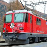 Schweizer-Eisenbahnen - Ge 4/4 II * 621