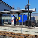 Schweizer-Eisenbahnen - Bahnhof Tann-Dürnten