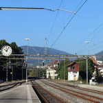 Schweizer-Eisenbahnen - Bahnhof Moutier