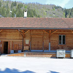 Schweizer-Eisenbahnen - Bahnhof Ilanz