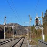 Schweizer-Eisenbahnen - Bahnhof Fischenthal