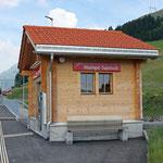 Schweizer-Eisenbahnen Bahnhof Mompé Tujetsch