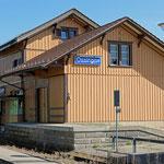 Schweizer-Eisenbahnen Bahnhof Ossingen