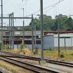 Schweizer-Eisenbahnen Bahnhof Rorschach