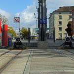 Schweizer-Eisenbahnen - Bahnhof Frauenfeld