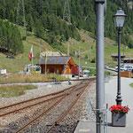 Schweizer-Eisenbahnen - Bahnhof Oberwald