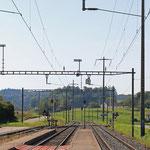 Schweizer-Eisenbahnen - Bahnhof Thalheim-Altikon