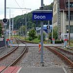 Schweizer-Eisenbahnen - Bahnhof Seon