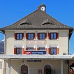 Schweizer- Eisenbahnen Bahnhof Scuol-Tarasp