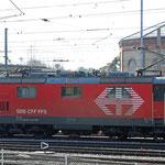 Schweizer-Eisenbahnen - Re 420 * 201