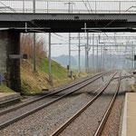 Schweizer-Eisenbahnen Bahnhof Oberaach