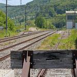 Schweizer-Eisenbahnen Bahnhof Eschenz