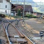 Schweizer-Eisenbahnen - Bahnhof Schwyz