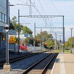 Schweizer- Eisenbahnen - Bahnhof Kreuzlingen Bernrain