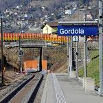 Schweizer-Eisenbahnen Bahnhof Gordola