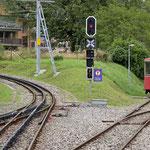 Schweizer-Eisenbahnen - Bahnhof Blonay