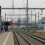 Schweizer-Eisenbahnen Bahnhof Buchs-Dällikon