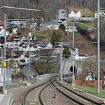 Schweizer-Eisenbahnen - Bahnhof Lichtensteig