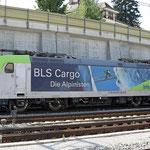 Schweizer-Eisenbahnen - Re 485 / 001