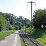 Schweizer-Eisenbahnen Bahnhof Dinhard