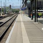 Schweizer-Eisenbahnen - Bahnhof Solothurn