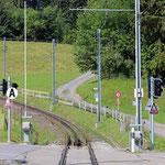 Schweizer-Eisenbahnen Bahnhof Kreuzstrasse