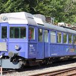 Mai 2019: ABe 526 290-2 welcher für das Tunnelkino benutzt wird. (Aufnahme vom September 2018.)