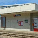 Schweizer-Eisenbahnen - Bahnhof Les Plantaz