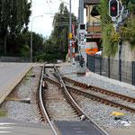 Schweizer-Eisenbahnen - Bahnhof Niederteufen