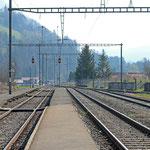 Schweizer-Eisenbahnen - Bahnhof Erlenbach im Simmental