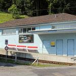 Schweizer-Eisenbahnen - Bahnhof Ruderbach