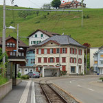 Schweizer- Eisenbahnen - Bahnhof Schützengarten