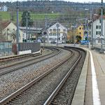 Schweizer-Eisenbahnen - Bahnhof Räterschen