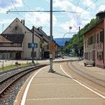 Schweizer-Eisenbahnen Bahnhof Hölstein