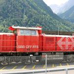 Schweizer-Eisenbahnen - Am 843 / 014