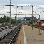 Schweizer-Eisenbahnen - Bahnhof Herzogenbuchsee