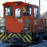 Schweizer-Eisenbahnen - Tm 2/2 * 115